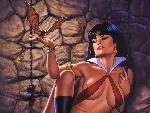 femmes vampires Dorian Cleavenger Chained jpg