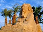 Egypte Avenue of Sphinxes Luxor Egypt jpg