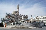 architecture islamique Abu Derwish Mosque in Amman  Jordan jpg