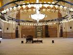architecture islamique Al Fateh Mosque in Manama  Bahrain interior jpg