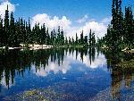 canada Balsam Lake Mount Revelstoke National Park British Columbia Canada jpg