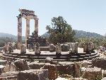 grece Delphi  Temple of Athena  3 jpg