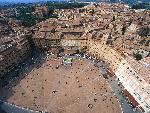 italie Aerial View of Piazza del Campo Siena Italy jpg