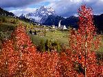 italie Church of Selva Di Cadore Colle Santa Lucia Italy jpg