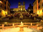 italie Trinita dei Monti Church Spanish Steps Rome Italy jpg