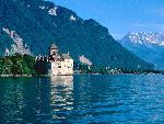 suisse Chateau de Chillon Lake Geneva Switzerland jpg