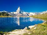 suisse Matterhorn Stellisee Valais Switzerland jpg