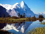 suisse Monch and Eiger Grosse Scheidegg Switzerland jpg