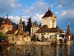 suisse Oberhofen Castle Lake Thun Switzerland jpg