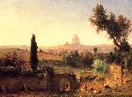 George Inness 1825 1894 Inness George St Peter s Rome jpg