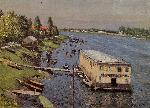 Gustave Caillebotte Caillebotte Gustave Boathouse in Argenteuil jpg