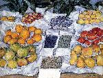 Gustave Caillebotte Caillebotte Gustave Fruit Displayed On A Stand jpg
