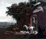 Jacques Laurent Agasse Agasse Jacques Laurent Departure to the Hunt jpg