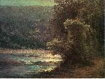 John Ottis Adams Adams John Ottis Moonlight on the Whitewater jpg