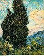 VanGogh Art gogh cypresses jpg