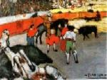 picasso Bull Fighting Pablo Picasso jpg