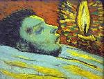 picasso Death of Casagemas Pablo Picasso jpg