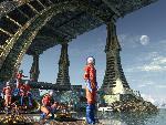 sci fi sf dead city explorers jpg