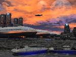 sci fi sf evening on the tarmac jpg