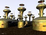 sci fi sf ideal martian suburb jpg