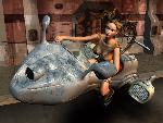 sci fi sf shin tokai biker chick takes off jpg
