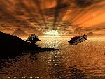 sci fi sfcolonial sunset jpg
