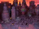 sci fi sfsunset city jpg